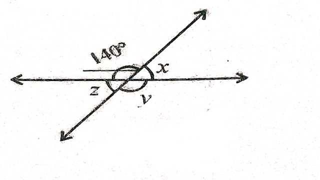 Plane Geometry and Line and Angle