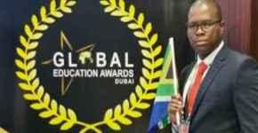AKS Education Award Given to Khangelani Sibiya