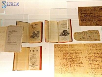 """Originalausgaben und handschriftliches Manuskript von Schiller zu """"Die Räuber"""""""