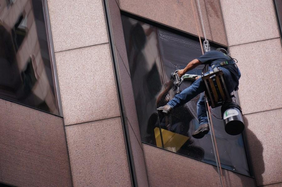 Fensterputzroboter Reinigung Fenster
