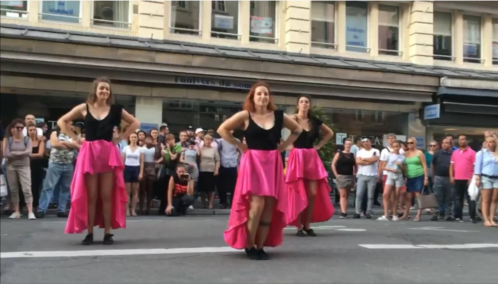 Démo des Chicas de Sauce Cubaine