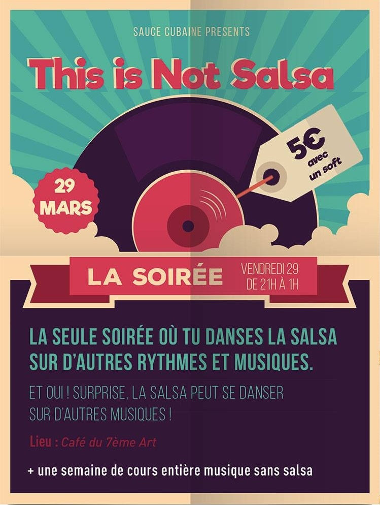 This is not salsa: La SOIREE 2