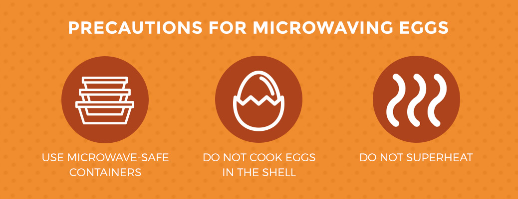 can you cook eggs in the microwave