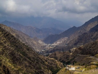 Sarawat Mountains in Aseer Province (photo: Florent Egal)