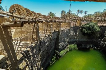 Al-Haddaj well in the ancient oasis of Tayma' (photo: Florent Egal)