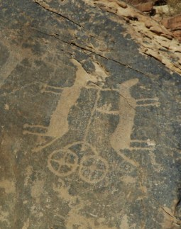 Chariot with two horses (photo: F. Egal)