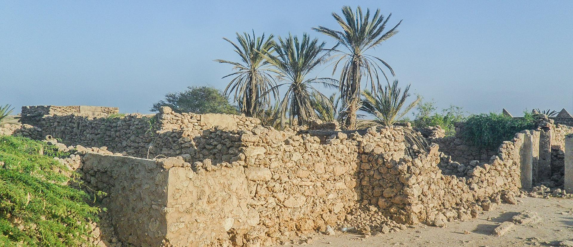 Al-Qassar village in Farasan Al-Kebir (photo: Florent Egal)
