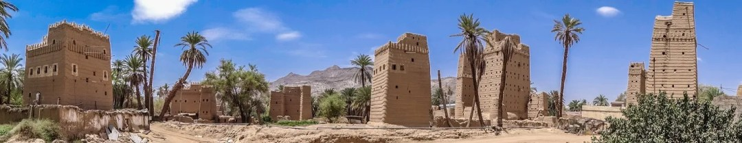 Traditional village of Abu As-Su'ud (photo: Florent Egal)
