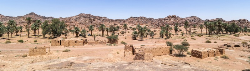 Traditional village at Jabal Aban Al-Asmar (photo: Florent Egal)