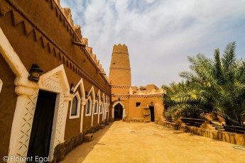 Old mosque and minaret of Ushaiger (photo: Florent Egal)