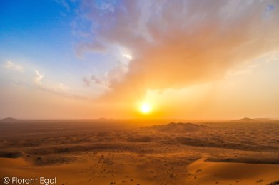 Sunset on the Star Dunes (photo: Florent Egal)