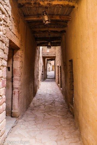 Street of Al-Ula Heritage Village (photo: Florent Egal)