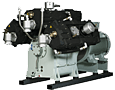 Water cooled compressors