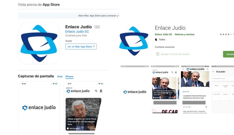 Enlace Judío aplicación híbrida en Flutter