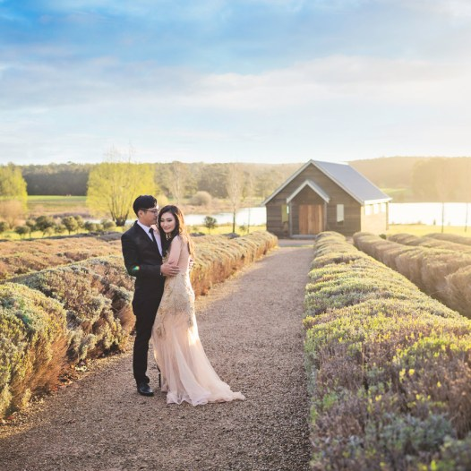 Weddings at Sault Restaurant Daylesford
