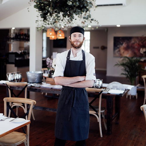 New head chef Liam Scott