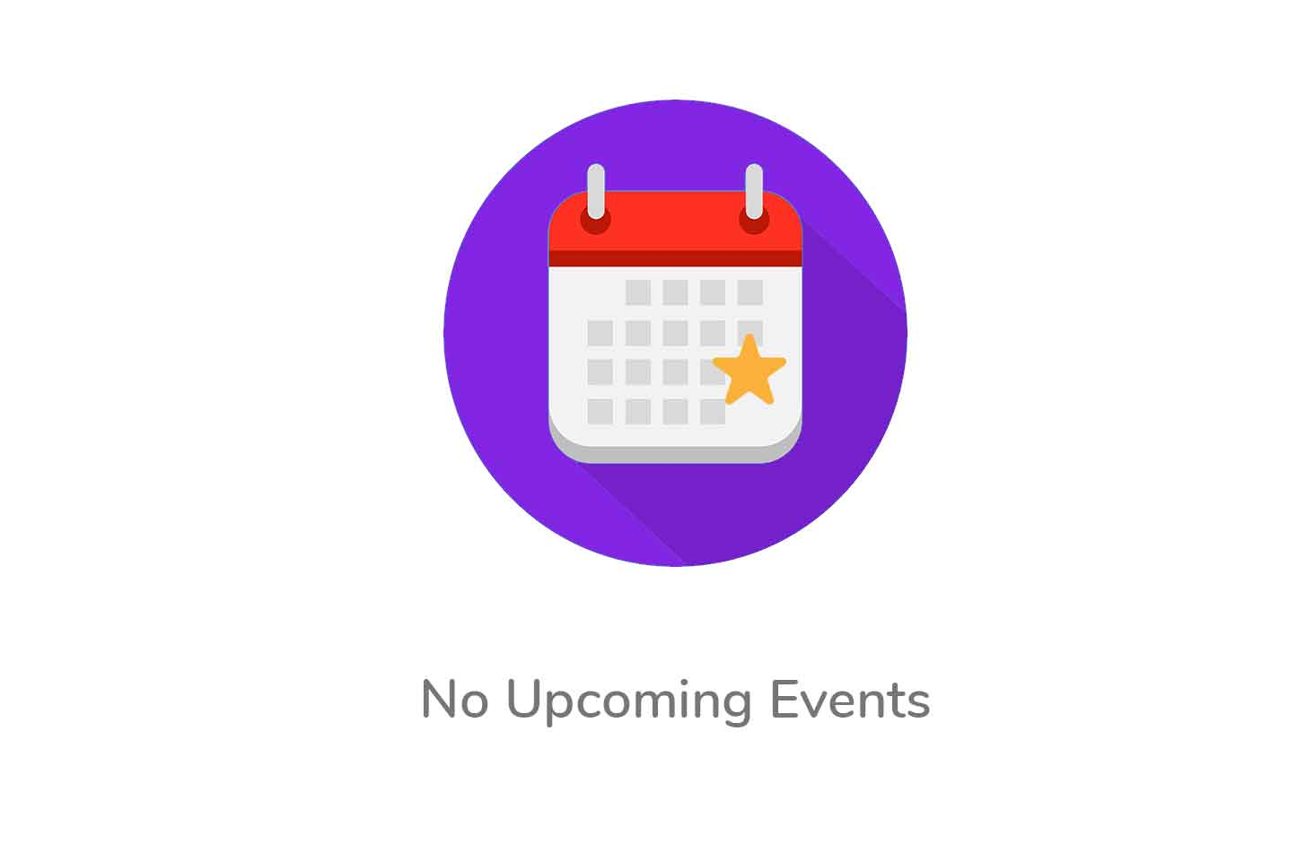 No Upcoming Events
