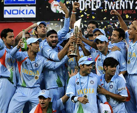 India Wins Twewnty20 Cricket World Cup