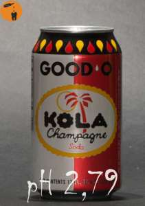 Kola Champange pH 2,79