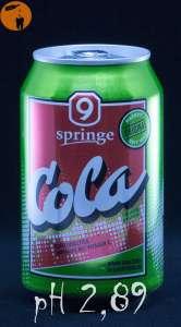 9 Springe Cola - pH 2,89