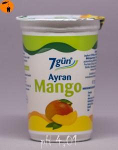 Ayran Mango - pH 4,01- Sommergetränk 2016