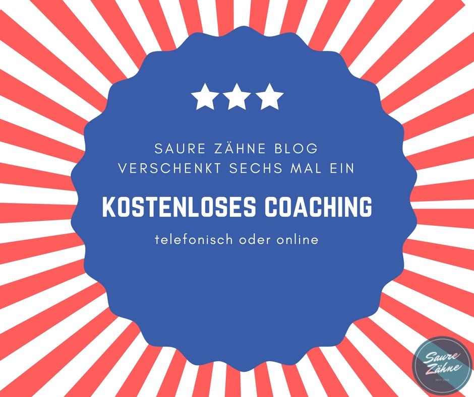 Kostenloses Coaching