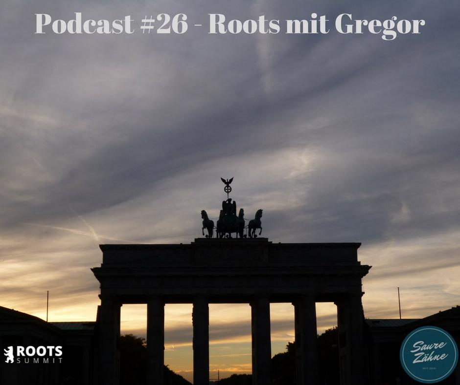 roots mit gregor