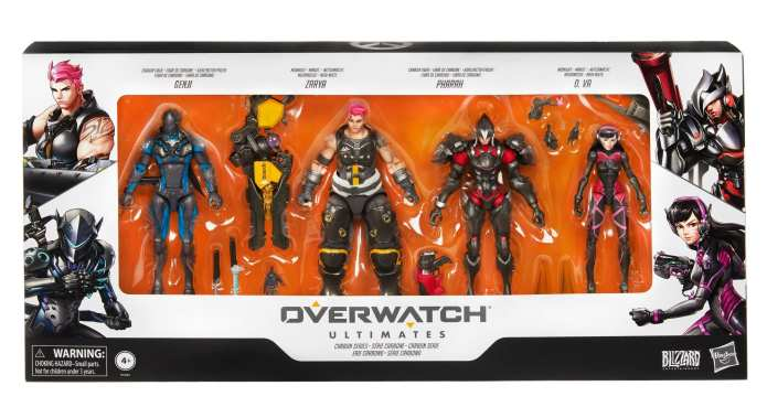 Hasbro Overwatch figurine collection available at EB Games | Sausage Roll
