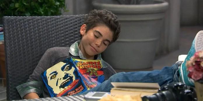 Luke Ross in Disney original series, Jessie (2011-2014) | Sausage Roll