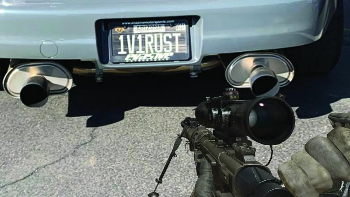 Call of Duty fan finds literal Modern Warfare 2 time machine