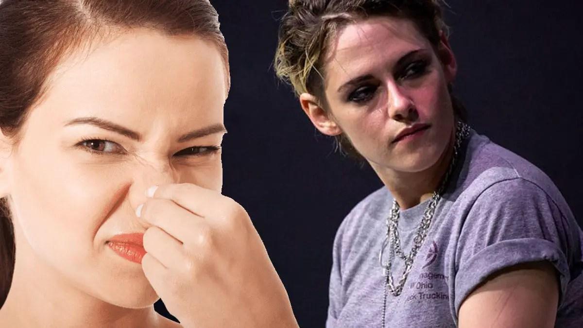 Kristen Stewart gives up, wears stinky torn shoes & dresses like a hobo