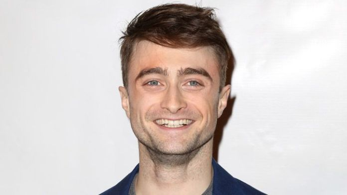 Daniel Radcliffe aka Harry Potter looks high