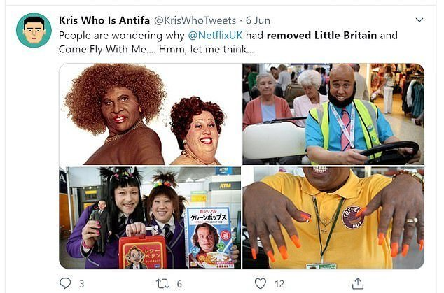 Cult classic comedy Little Britain cancelled for 'racist' blackface sketch