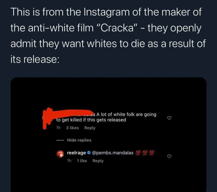 Dale Restighini Cracka hypes white deaths