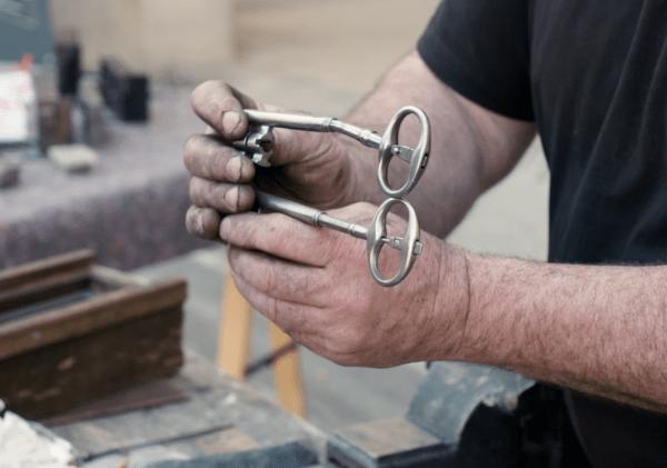 restauration de l armoire de fer le