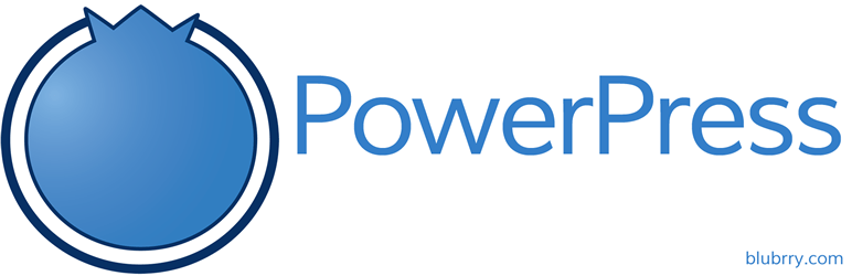 BluBrry PowerPress logo
