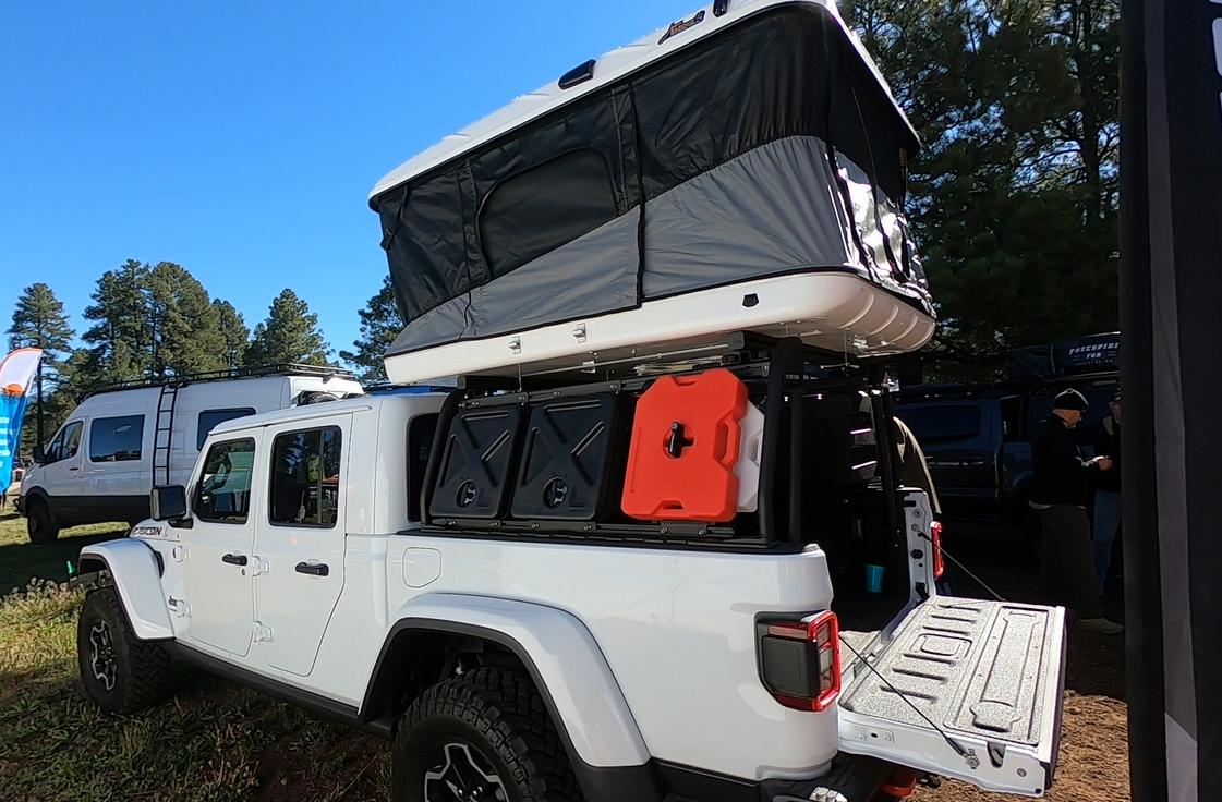 Leitner Designs Jeep Gladiator Cargo System Savage Camper