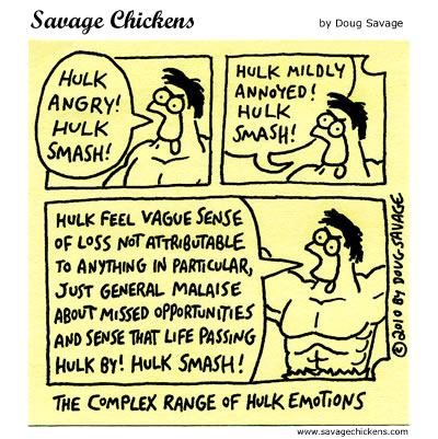 Hulk - Savage Chickens