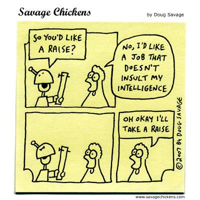 Savage Chickens - Reconsideration