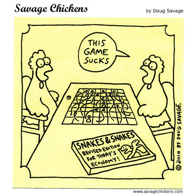 Savage Chickens - Board Game