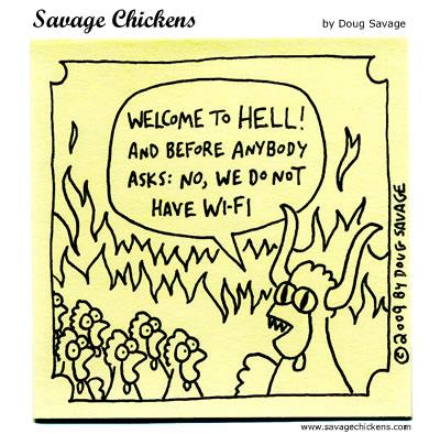 Savage chicken - Orientation