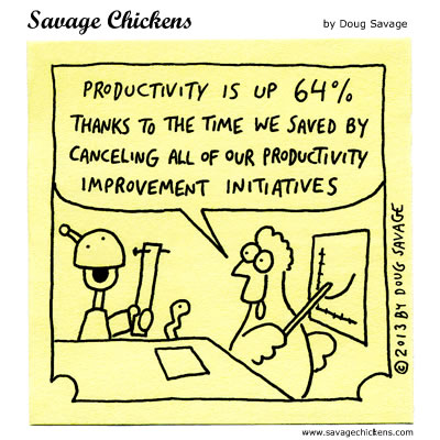 Productivity Is Up