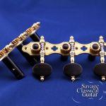 Alessi Tuning Machines – Oval Ebony F5