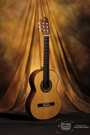 Manuel Rodriguez Classical Guitar - FG Madagascar - Spruce