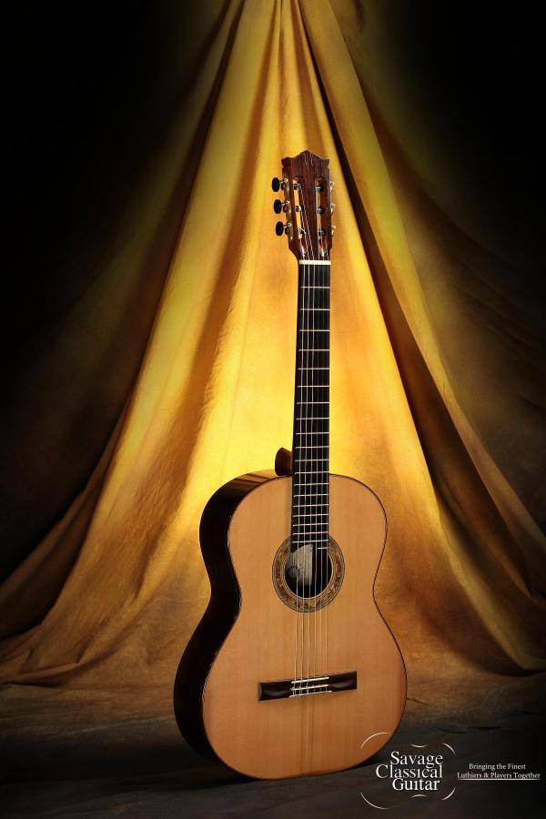 Richard Prenkert Classical Guitar #362 Cedar w/CSA RW
