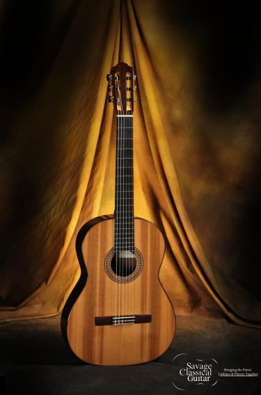 2015 Maxwell Sipe Classical Guitar Cedar EIRW
