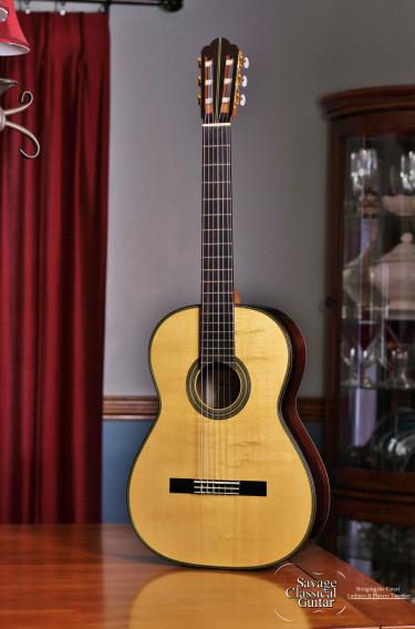 Hermann Hauser III Segovia Model Classical Guitar #725