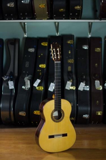 2016 Felipe Conde Flamenco Guitar Negra Spruce EIRW #11