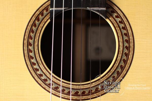 Maxwell Sipe Classical Guitar 2014 Spruce EIRW
