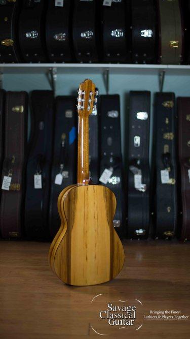 Esteve Flamenco Guitar Model 5FE Redgum